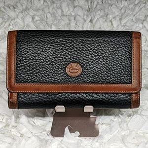 Dooney & Bourke AWL Trifold Vintage Wallet
